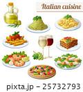 食 料理 食べ物のイラスト 25732793