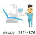 虫歯治療【フラット人間・シリーズ】 25744376