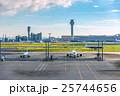 旅客機 飛行機 空港の写真 25744656