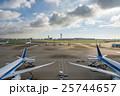 旅客機 飛行機 空港の写真 25744657