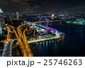 シンガポール・シンガポールフライヤーと夜景 25746263