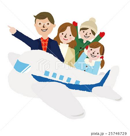 家族 冬の旅行 25746729