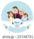 家族 ベクター 旅行のイラスト 25746731