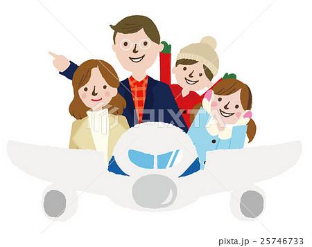 家族 冬の旅行 25746733