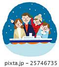 家族 ベクター 家族旅行のイラスト 25746735