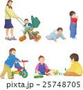 ベビーカーの赤ちゃん 25748705