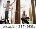 建築 建設 打ち合わせ ミーティング 建設業 建築業 建築現場 現場監督 25749561