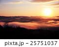 大撫山 朝日と雲海 25751037