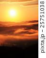 大撫山 朝日と雲海 25751038