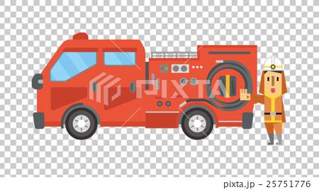 Firefighter [Flat human series] 25751776