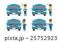 整備士のセット【フラット人間・シリーズ】 25752923