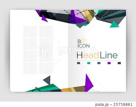 Unusual abstract corporate business brochureのイラスト素材 [25758861] - PIXTA