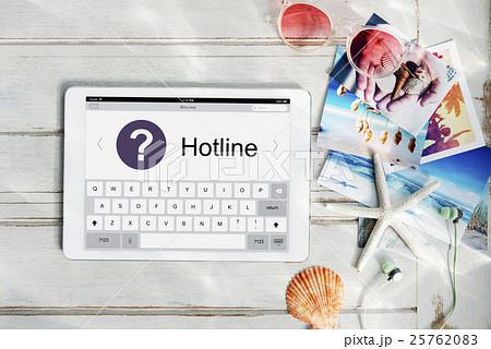 Call Center Information Operator Service Graphic Conceptの写真素材 [25762083] - PIXTA