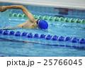 水泳選手 クロール 25766045