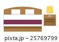 ベッド【フラット人間・シリーズ】 25769799