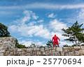 三重県 伊賀上野城の石垣に現れた忍者 25770694