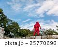 三重県 伊賀上野城の石垣に現れた忍者 25770696