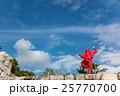 三重県 伊賀上野城の石垣に現れた忍者 25770700