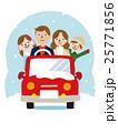 家族 冬のドライブ 25771856