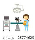 ベクター 動物病院 獣医師のイラスト 25774625
