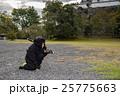 三重県 伊賀上野城に現れた子どもの忍者 黒装束 25775663