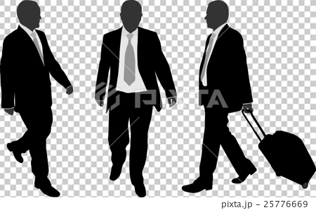 business people walking 25776669