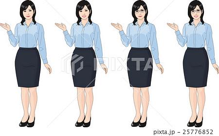 ブラウスを着た女性 25776852