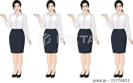 ブラウスを着た女性 25776853