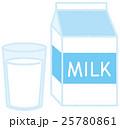 牛乳 パック 25780861