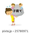 子育て【二頭身・シリーズ】 25780971