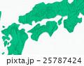 四国 地図イメージ 25787424