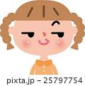 女の子 小学生 子供 笑顔 25797754