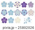桜 ベクター セットのイラスト 25802026