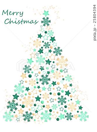 キラキラクリスマスツリー 緑
