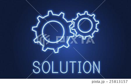 Business Achievement Progress Develpoment Cogwheel Conceptのイラスト素材 [25813157] - PIXTA