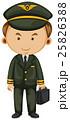 Pilot in black uniform 25826388