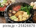 鍋物の季節 牛すき焼き 25826870