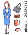 女性 セット 人物のイラスト 25829211