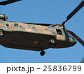 千葉県船橋市の習志野駐屯地で新春に行われる降下訓練始めで飛行する大型輸送用ヘリコプター 25836799