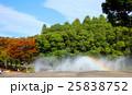紅葉と噴水 25838752