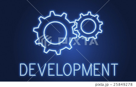 Business Achievement Progress Develpoment Cogwheel Conceptのイラスト素材 [25849278] - PIXTA
