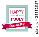 Design a banner for Canada Day 1 st of July.  25852587