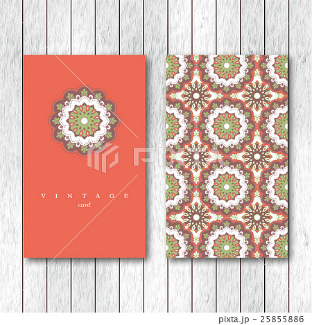 Set of cards, flyers, brochures, templatesのイラスト素材 [25855886] - PIXTA