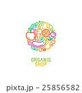 ベクトル シンボルマーク ロゴのイラスト 25856582