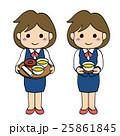 スーツ会社員女性・お茶出し2 25861845