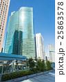 東京_汐留シオサイト都市風景 25863578