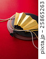 扇 和風素材 組紐の写真 25865263