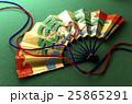 扇 和風素材 組紐の写真 25865291