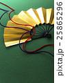 扇 和風素材 組紐の写真 25865296