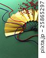 扇 和風素材 組紐の写真 25865297
